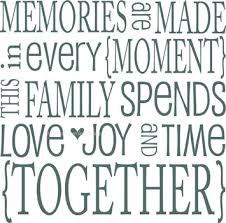 family memories quotes like success