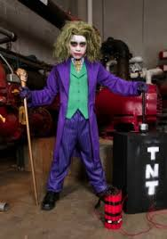Joker Costume Halloween Kids Superhero Costumes Halloween Child Superhero Costumes