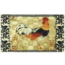 Rooster Runner Rug Rooster Rug Artistic Rooster Rugs For The Kitchen For Great