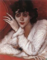 Madame Cezanne In A Red Armchair Art 4 2day
