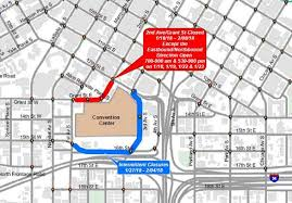 sle business plan recreation center streets closing near convention center for super bowl experience