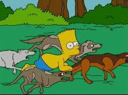 Dog In The Backyard by Image Bart In The Backyard Jpg Simpsons Wiki Fandom Powered