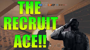 the recruit ace rainbow six siege white noise road to