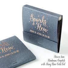 matchbook wedding favors sparks flew matchbooks wedding favors wedding matches
