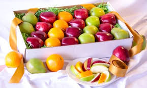 fruit gift boxes the s day deluxe i you mixed fruit box and