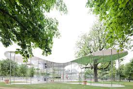 serpentine gallery pavilion 2009 designed by kazuyo sejima u0026 ryue