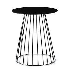 Black Side Table Home Republic Element Tower Side Table Black Furniture Side