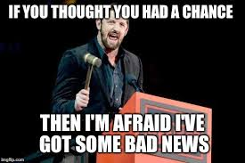 Bad News Barrett Meme - bad news barrett wwe imgflip
