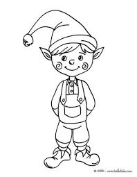 coloring pages of elf elf coloring pages drawing for kids reading learning kids