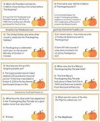 thanksgiving fowl play fact or fiction free printable
