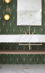 Yellow Tile Bathroom Ideas Bathroom Vintage Green Tile Bathroom Green And White Bathroom