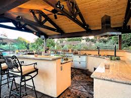 covered outdoor kitchen kitchen decor design ideas