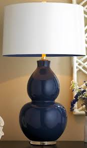 Table Lamp Shades by Best 25 Navy Blue Lamp Shade Ideas Only On Pinterest Dinning