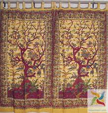 India Curtains Tree Of Curtains Indian Decor And Ethnic Fashion Novahaat