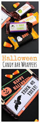 Free Printables Halloween by Free Printable Halloween Candy Bar Wrappers Crazy Little Projects