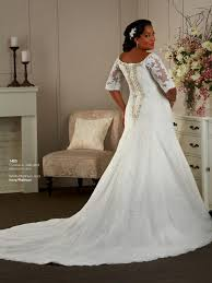 plus size wedding dresses with sleeves or jackets plus size fit and flare wedding dresses with sleeves naf dresses
