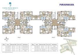 Apartment Block Floor Plans Floor Plans Plam Beach Hennur Road