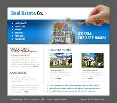 free website templates with real estate theme 1