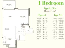 Hillion Residences 1 Bedroom 474 Sqft Ben Choong Property