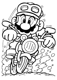 mario kart coloring pages coloring pages kids