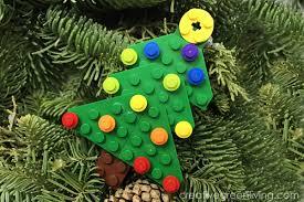 how to make a lego tree ornament creative green living