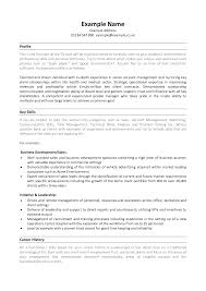Profile For Resume Examples Resume With Achievements Sample Accomplishment Resume Template