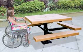Commercial Outdoor Tables Impressive Outdoor Commercial Picnic Tables Custom Fabrication