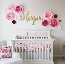 Nursery Room Wall Decor Easter Sale Large Name Sign Calligraphy Laser Cut Nursery Sign
