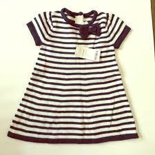 58 off gymboree other nwt gymboree blue and white striped dress