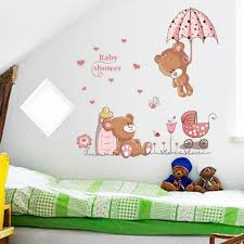 Cheap Nursery Wall Decals by Online Get Cheap Baby Bear Stickers Aliexpress Com Alibaba Group
