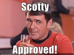 Approved Meme - star trek scotty approved by judihyuga on deviantart