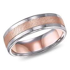 e wedding bands men s 14k gold white gold and silver wedding band 550