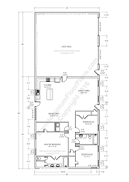 3 floor plan barndominium floor plans pole barn house plans and metal barn
