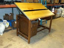 vintage wood drafting table studio designs desk drafting table for vintage by studio designs