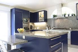 cuisine gris et bleu deco cuisine noir decoration blanche et 1 gris bleu