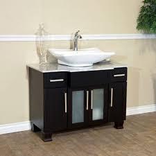 elegant black pedestal sink storage cabinet luxury round black