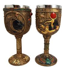 Ancient Egyptian Home Decor Collectibles Ancient Egyptian God Of Knowledge Goblet Chalice