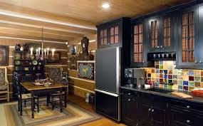 cuisine en bois design cuisine bois et noir design cuisine cuisine ikea noir bois prix