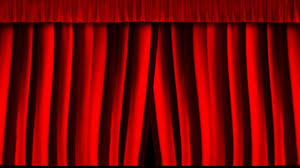 Theater Drop Curtain Curtain Closing Youtube