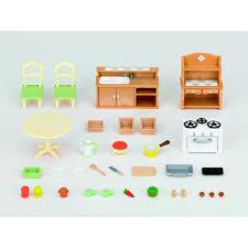 sylvanian families cuisine set cuisine sylvanian families jouets activités créatives
