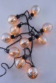 mercury glass string lights globe lights mercury glass string light end to end 6ft 10ct