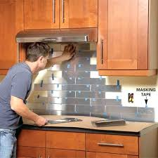 installing a kitchen backsplash kitchen category superb marvelous half wall how to install
