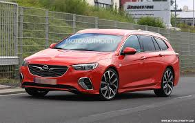 opel chicago 2018 opel insignia gsi sports tourer spy shots
