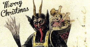 meet krampus the demon that is snatching up bad children this