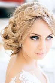 Hochsteckfrisurenen Hochzeit Lange Haare by Hochsteckfrisuren Hochzeit Blumenkranz Trend Idee Für Die