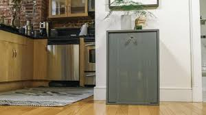 Kitchen Cabinet Recycling Center How To Make A Hidden Trash Can Cabinet Danmade Watch Dan Faires