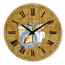 kitchen wall clocks modern cartoon chef kitchen wall clock with waterproof clock face modern