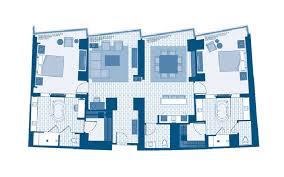 Panorama Towers Las Vegas Floor Plans Aria Rooms U0026 Suites