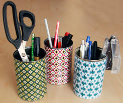 Colorful Desk Organizers How To Make Colorful Desk Organizers World Of Pineapple