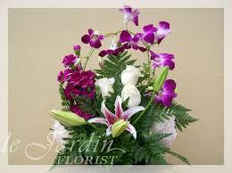 orchid flower arrangements twist flower arrangement
